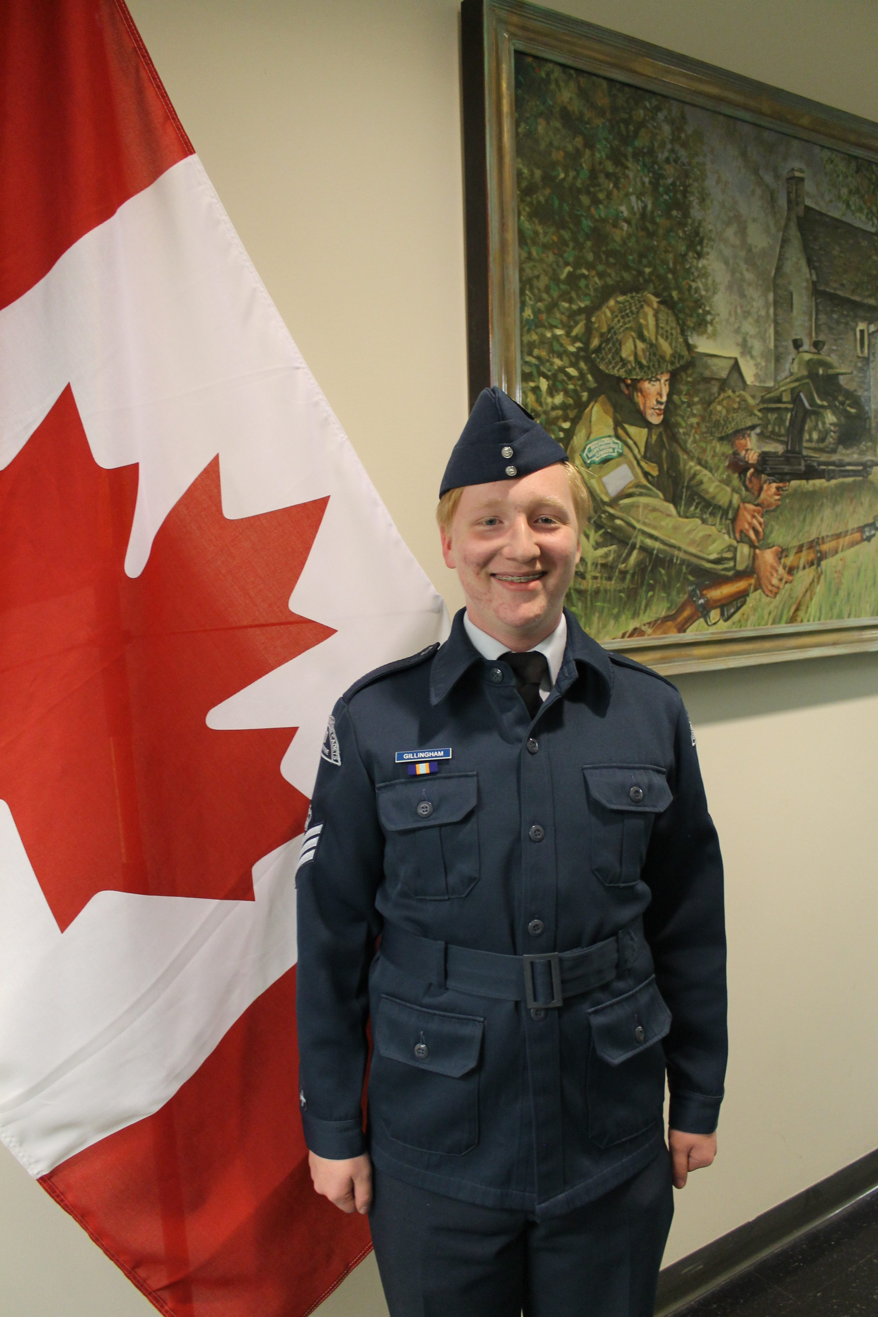 Warrent Officer First Class Noah Gillingham