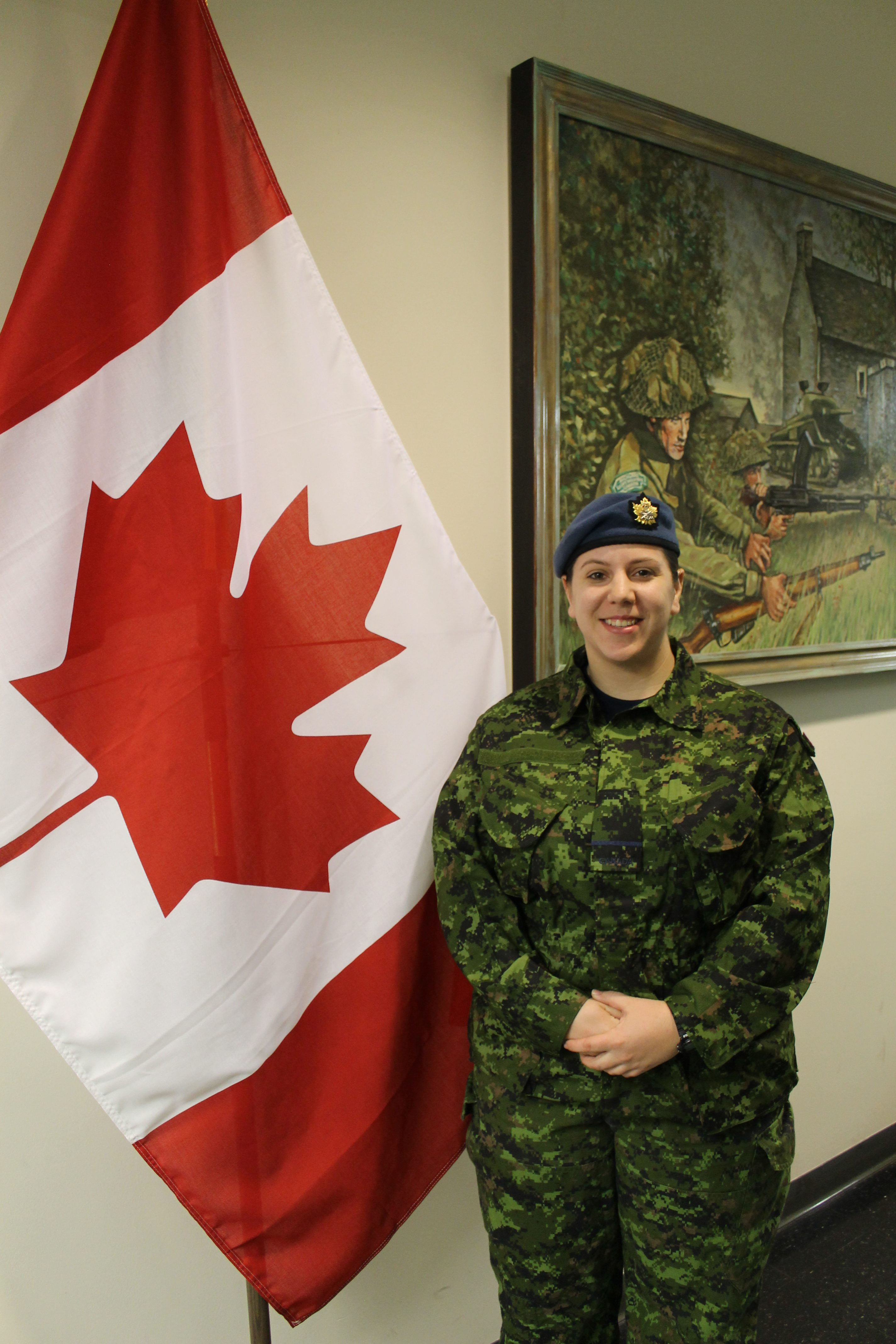Officer Cadet Alyssia Dietrich