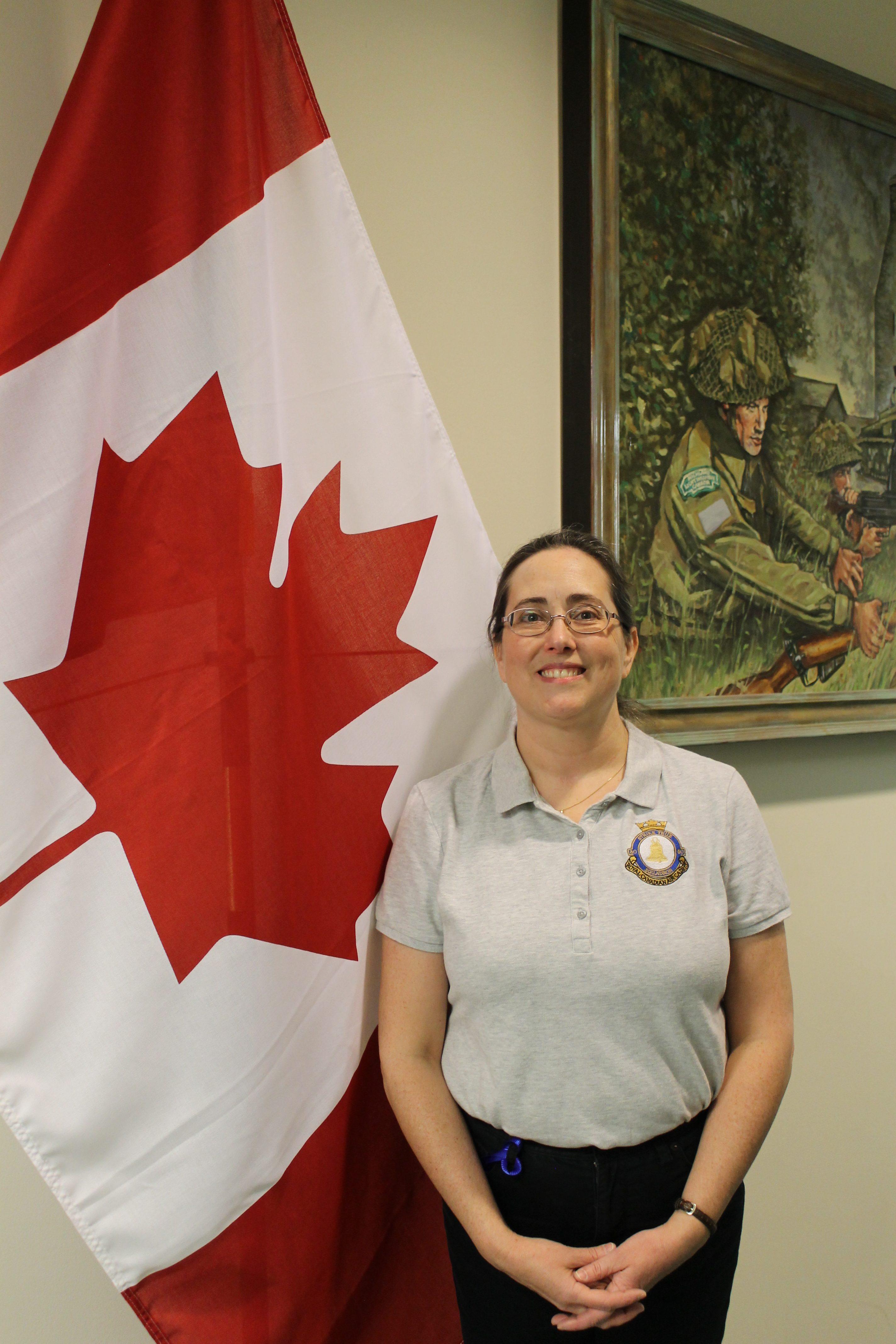 Civilian Volunteer April Wettig